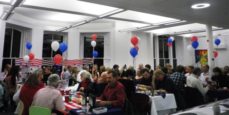 American themed quiz night