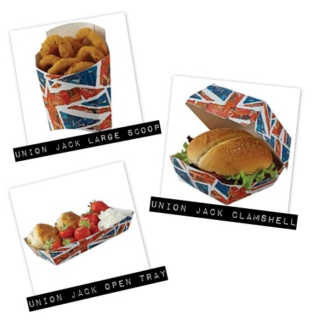 union jack tableware