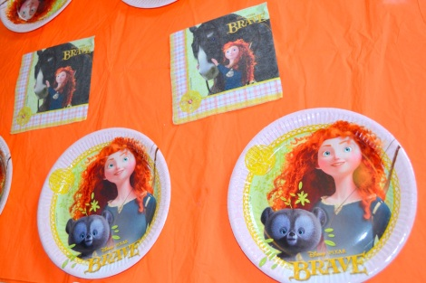 disney pixar brave tableware