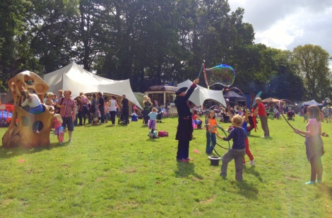 Glastonbury Children's Festival Bubbles