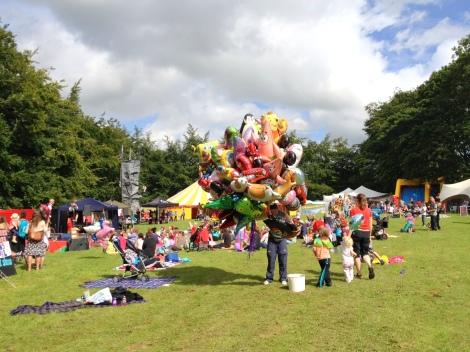 Glastonbury Children's Festival Balloons