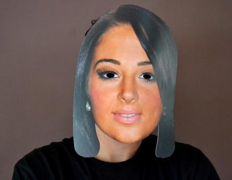 X Factor Tulisa Mask