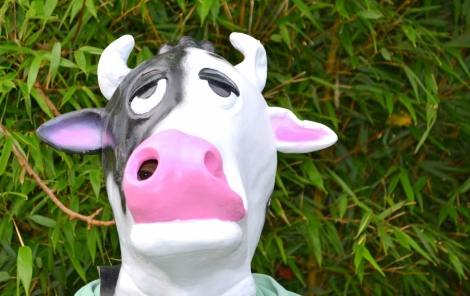 Rubber Cow Mask