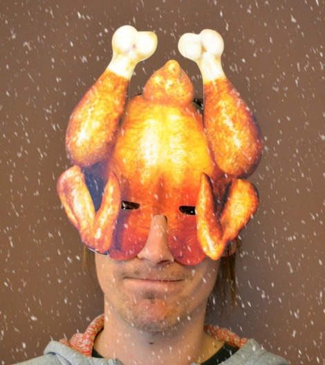 Christmas Turkey Mask