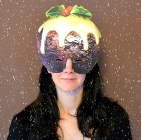 Christmas Pudding Mask