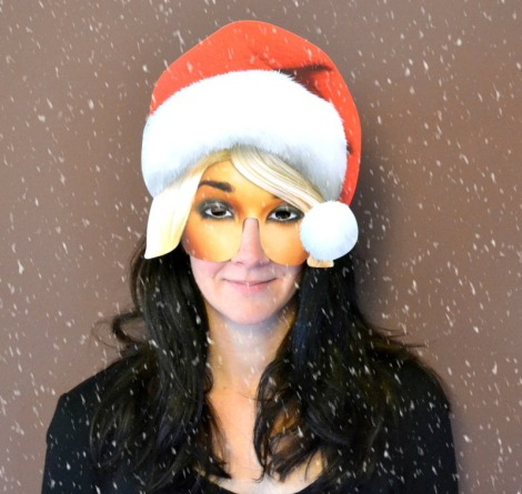 Mrs Claus Mask