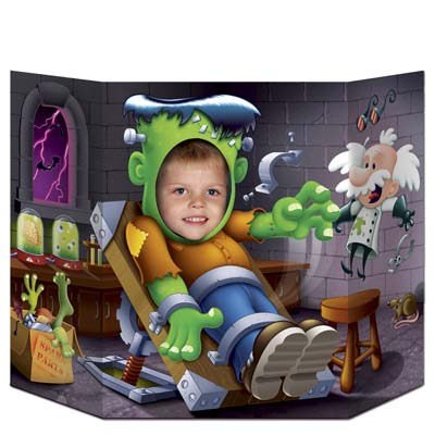 Frankenstein Photo Prop