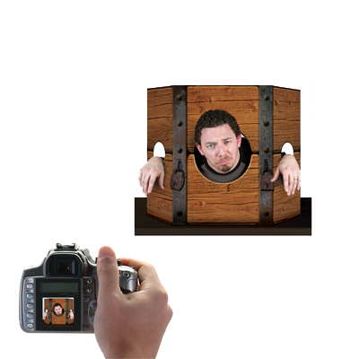 Medieval Stockade Photo Prop