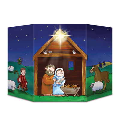 Nativity Photo Prop