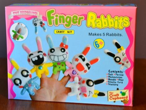 Finger Rabbit Craft Kit