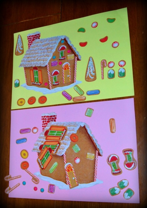 Gingerbread House Activity Sheet