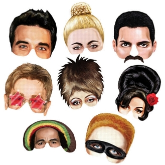 Musical Icon Masks