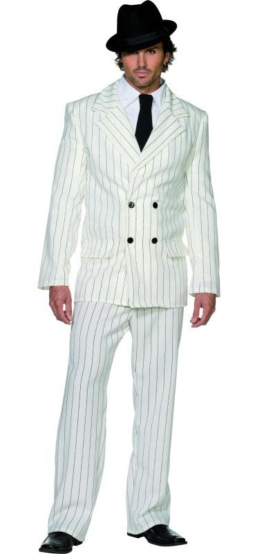 White Gangster Costume