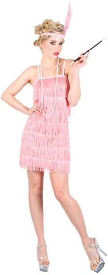 Showtime Flapper Girl Dress