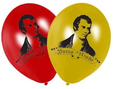 Burn's Night Balloons