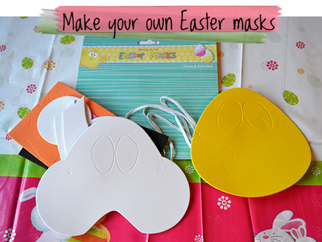Make Your Own Easter Masks