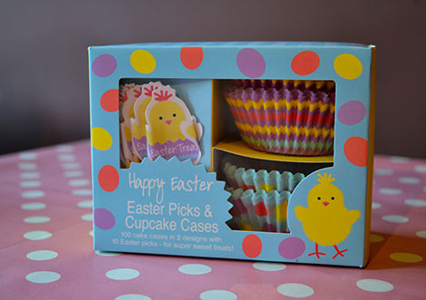 Easter Chick Cupcake Kit
