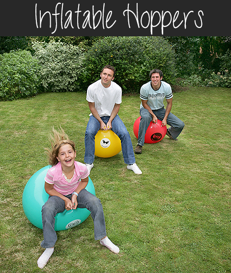 Inflatable Hoppers